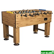 Weekend Настольный футбол «Champion Pro» (140х72х86, светлый), интернет-магазин товаров для бильярда Play-billiard.ru. Фото 1