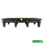 Weekend Бильярдный стол для снукера «Magnum Pro» 12 ф (черный, плита 50 мм в комплекте), интернет-магазин товаров для бильярда Play-billiard.ru. Фото 4
