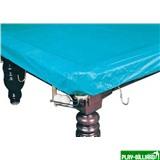 Покрывало для стола 12 ф (влагостойкое, зеленое, резинки на лузах), интернет-магазин товаров для бильярда Play-billiard.ru