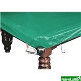 Weekend Покрывало для стола 10 ф (влагостойкое, зеленое, резинки на лузах), интернет-магазин товаров для бильярда Play-billiard.ru