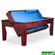 DBO Многофункциональный игровой стол 6 в 1 «Tornado» (коричневый), интернет-магазин товаров для бильярда Play-billiard.ru. Фото 4