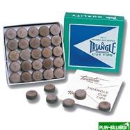 Tweeten Наклейка для кия «Triangle» 12 мм, интернет-магазин товаров для бильярда Play-billiard.ru
