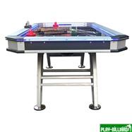 Weekend Аэрохоккей «Black Ice» 7 ф (213 х 111 х 80 см, черный), интернет-магазин товаров для бильярда Play-billiard.ru. Фото 2