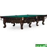 """Бильярдный стол для снукера """"Gogard"""" 12 ф (черный орех), интернет-магазин товаров для бильярда Play-billiard.ru"""