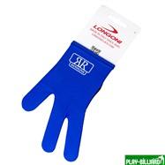 Weekend Перчатка бильярдная «RenzLine Bicolor» (синяя), интернет-магазин товаров для бильярда Play-billiard.ru