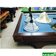 Weekend Бильярдный стол для карамболя «Hollywood» 8,5 ф (кофе, плита 50мм), интернет-магазин товаров для бильярда Play-billiard.ru. Фото 2