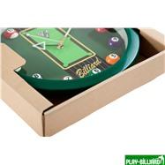 Weekend Часы настенные «12 шаров» D30 см (зеленые), пластик, интернет-магазин товаров для бильярда Play-billiard.ru. Фото 3