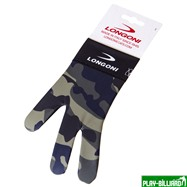 Weekend Перчатка бильярдная «Longoni Fancy Military 1», интернет-магазин товаров для бильярда Play-billiard.ru