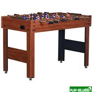 Weekend Настольный футбол (кикер) «Standart» (122x61x78.7 см, коричневый), интернет-магазин товаров для бильярда Play-billiard.ru. Фото 1