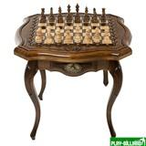"""Стол ломберный шахматный """"Арагац"""", Ohanyan, интернет-магазин товаров для бильярда Play-billiard.ru"""