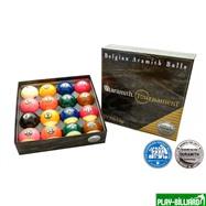"Saluc S.A. Комплект шаров 57.2 мм ""Aramith Tournament Pro Cup TV"", интернет-магазин товаров для бильярда Play-billiard.ru"