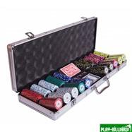 Набор для покера Le Royale на 500 фишек, интернет-магазин товаров для бильярда Play-billiard.ru. Фото 6