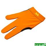 Weekend Перчатка бильярдная «WB» (черно-оранжевая), защита от скольжения, интернет-магазин товаров для бильярда Play-billiard.ru