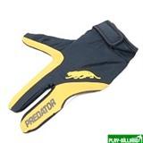 Перчатка бильярдная «Predator» (черно-желтая) S&M, интернет-магазин товаров для бильярда Play-billiard.ru