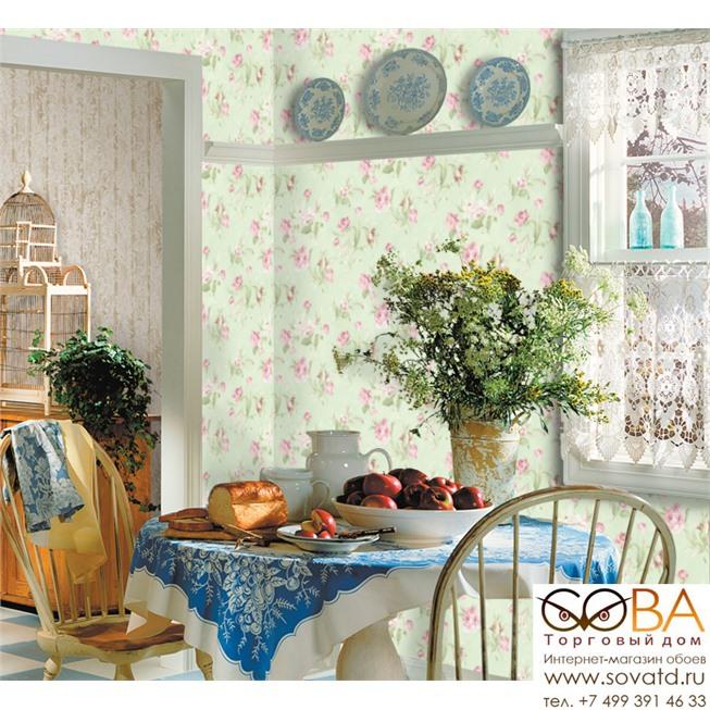 Обои Seabrook LJ80404 Le Jardin купить по лучшей цене в интернет магазине стильных обоев Сова ТД. Доставка по Москве, МО и всей России