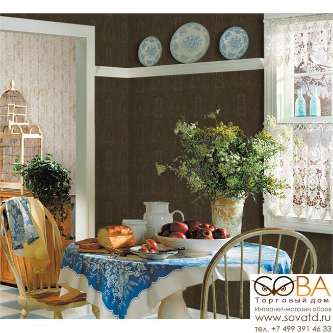 Обои Seabrook VM50204 Villa Medici купить по лучшей цене в интернет магазине стильных обоев Сова ТД. Доставка по Москве, МО и всей России