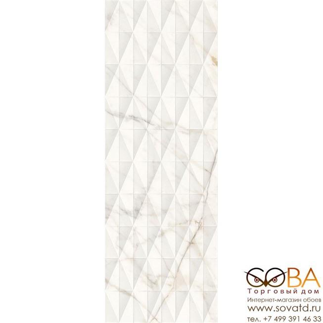 Плитка Marazzi  Allmarble Wall Golden White Struttura Pave Satin 3D 40х120 купить по лучшей цене в интернет магазине стильных обоев Сова ТД. Доставка по Москве, МО и всей России