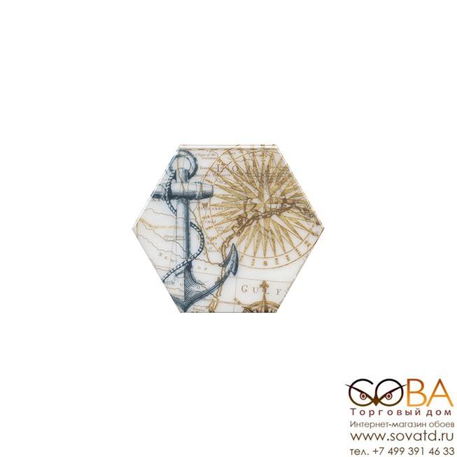 Декор Эль Салер  HGD\A332\24020 20х23,1 купить по лучшей цене в интернет магазине стильных обоев Сова ТД. Доставка по Москве, МО и всей России