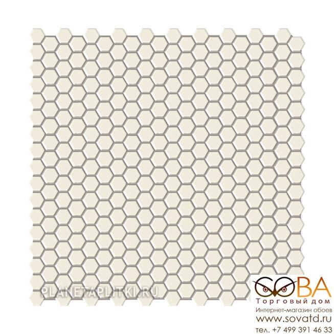 Мозаика Ibero  Mosaico Maio White 29 x 29.5 купить по лучшей цене в интернет магазине стильных обоев Сова ТД. Доставка по Москве, МО и всей России