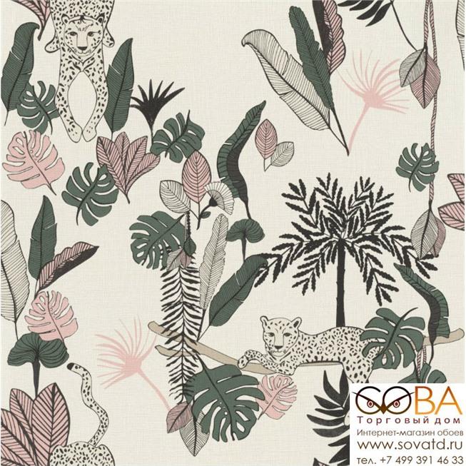 Обои Rasch Club Botanique 540338 купить по лучшей цене в интернет магазине стильных обоев Сова ТД. Доставка по Москве, МО и всей России