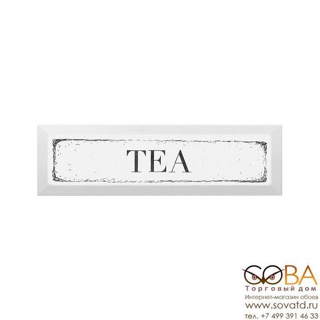Декор Kerama Marazzi  Tea черный 8,5х28,5 купить по лучшей цене в интернет магазине стильных обоев Сова ТД. Доставка по Москве, МО и всей России