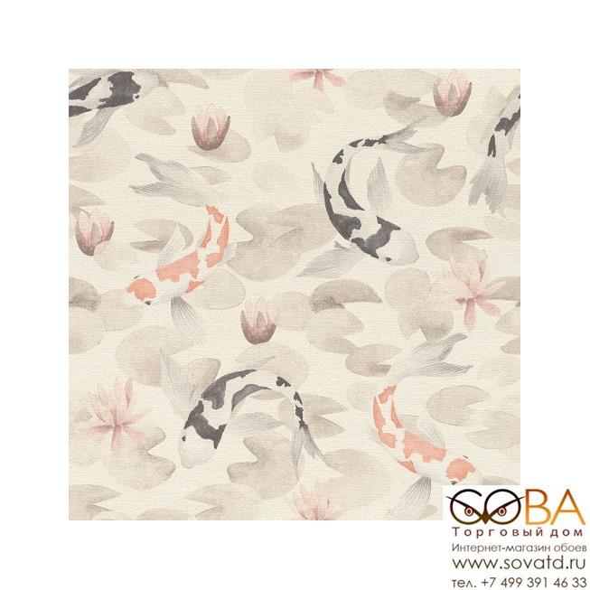 Обои RASCH Kimono 409420 купить по лучшей цене в интернет магазине стильных обоев Сова ТД. Доставка по Москве, МО и всей России