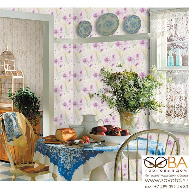 Обои Seabrook IM40009 Impressionist купить по лучшей цене в интернет магазине стильных обоев Сова ТД. Доставка по Москве, МО и всей России