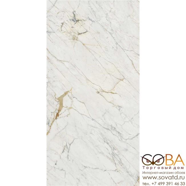 Керамогранит Marazzi  Grande Marble Look Golden White Satin 12mm 162х324 купить по лучшей цене в интернет магазине стильных обоев Сова ТД. Доставка по Москве, МО и всей России