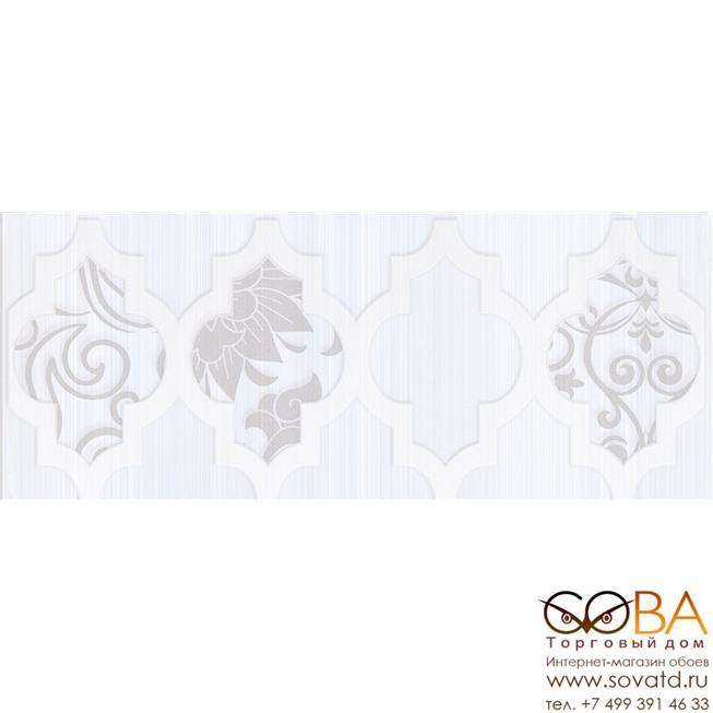 Бордюр Buhara  серый 10х25 купить по лучшей цене в интернет магазине стильных обоев Сова ТД. Доставка по Москве, МО и всей России
