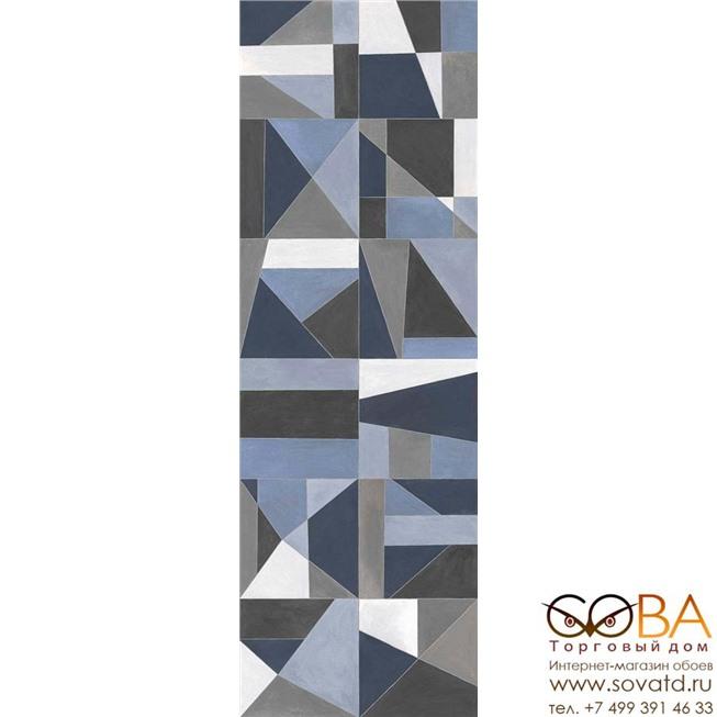 Декор Marazzi  Colorplay Decoro Tiles White 30х90 купить по лучшей цене в интернет магазине стильных обоев Сова ТД. Доставка по Москве, МО и всей России