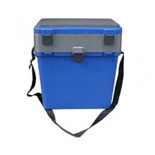 Ящик для зимней рыбалки Тонар Helios-M (зеленый)