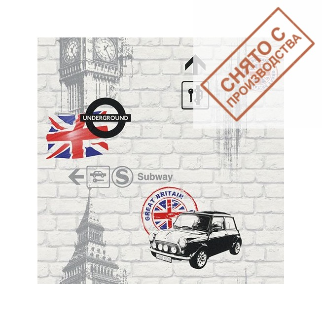 Обои Rasch 234750 купить по лучшей цене в интернет магазине стильных обоев Сова ТД. Доставка по Москве, МО и всей России