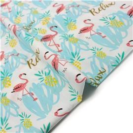 Голубые фламинго релакс