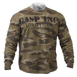 Свитер GASP Thermal Gym Sweater, Camoprint