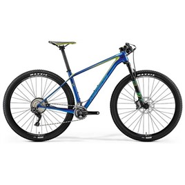 Велосипед Merida Big Nine XT Blue (Green/Teal) 2018, интернет-магазин Sportcoast.ru