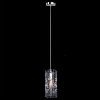 Подвесной светильник MDM-1823/1 CH+Clear
