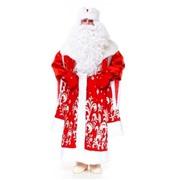 """Новогодний костюм """"Дед Мороз"""" Звездный"""