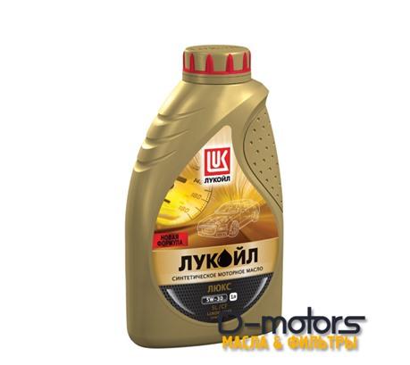 Моторное масло Лукойл Люкс 5W-30 SL/CF (1л.)