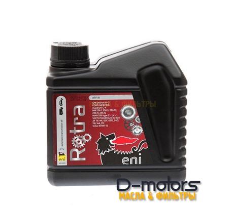 Трансмиссионное масло ENI  Rotra ATF III (1л)