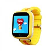 Детские часы GPS трекер Smart Baby Watch Q100 GW200S Желтые