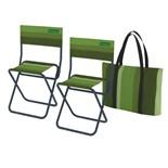 Набор стульев складных в сумке Zagorod N 202 (синий)