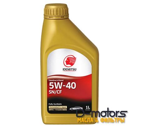 Моторное масло Idemitsu 5W-40 (1л.)