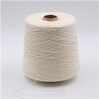 Носочная пряжа для окрашивания, 200м/50г, цвет Белый, RAW WHAIT