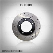 BDF009. Передняя ось. Перфорация + слоты