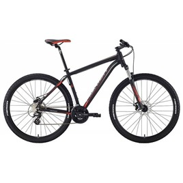 Велосипед Merida Big Seven 15-MD Matt Black (Grey/Signal Red) 2018, интернет-магазин Sportcoast.ru