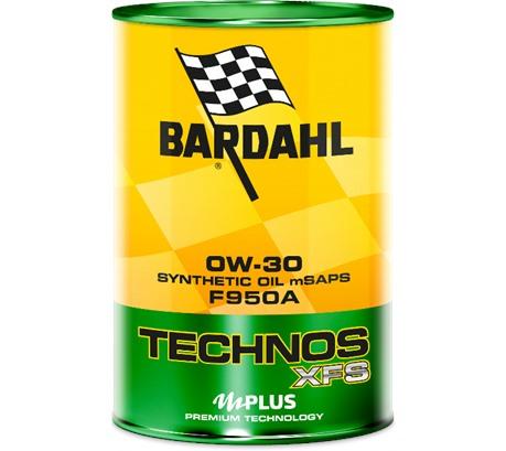 Bardahl C60 TECHNOS XFS F950A 0W-30 (1 л.)