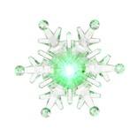 Фигурка светодиодная Vegas Снежинка с батарейкой, на присоске 9,5х9,5 см, 24V 55055