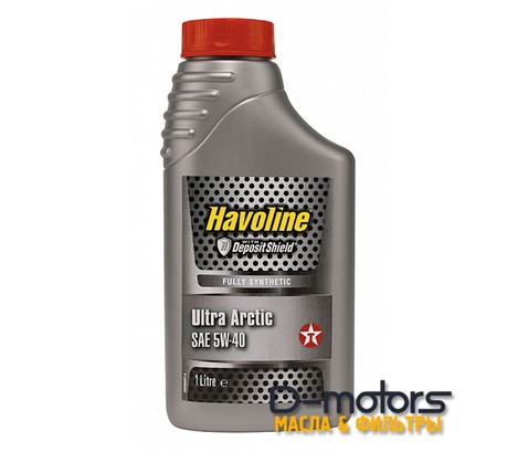TEXACO HAVOLINE ULTRA ARCTIC 5W-40 (1л.)