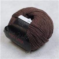 Пряжа Silky, Шоколад 010, 200м/50г, Pro Lana