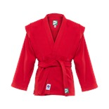 Куртка для самбо JS-303, красная, р.2/150
